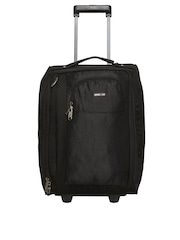 Bags.R.us Unisex Black Maxlite Cabin Trolley Bag