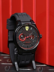 rakuten starmart ferrari mens black mart watch market belt rubber watches chronograph scuderia official en item star store unreleased japan global