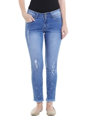 Jeans for Women - Buy Ladies Black Denim Jeans Online in India