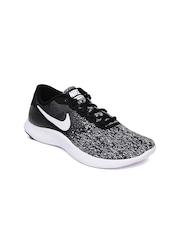 Nike Women Black Grey Flex Contact Running Shoes