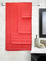 Raymond Home Coral Red Set of 6 Towels