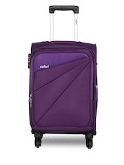 Safari Uni Purple Mimik Large Trolley Bag
