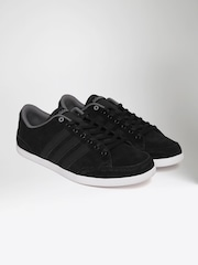 Black Red Perfect Material Adidas Neo Unisex Shoes