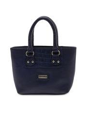 ESBEDA Blue Solid Handheld Bag