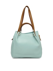 Dressberry Blue Solid Shoulder Bag