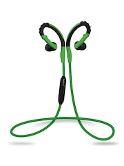 Boult Audio Black & Green FitreK Sports Wireless Bluetooth Earphones BA-FITREK