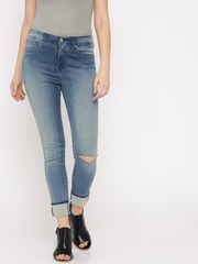 High waist jeans in india