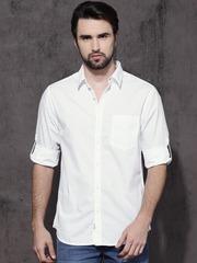 Mens White Shirts | Buy White Shirt For Men Online in India