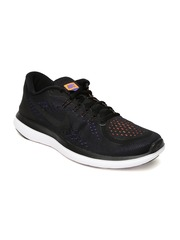 Nike Men Black Flex 2018 Rn Running Shoes