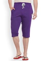 Vimal Purple Lounge Shorts C2-PURPLE01