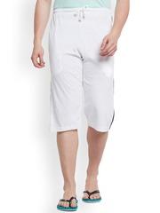 Vimal White Lounge Shorts C2-WHITE01