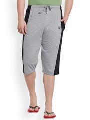 Vimal Grey Lounge Shorts C7-MELANGE01