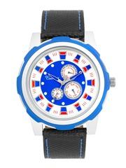 Camerii Men Blue Analogue Watch WM214