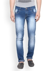 JAINISH Men Blue Slim Fit Low-Rise Clean Look Stretchable Jeans
