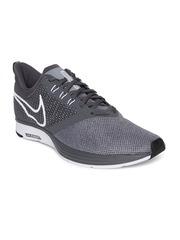 Nike Men Grey Zoom Strike Running Shoes
