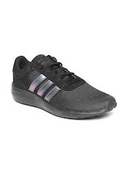 Adidas NEO Men Black Cloud Foam Race Sneakers