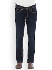 Globus Men Blue Slim Fit Low-Rise Clean Look Jeans