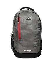 Fastrack Uni Grey Solid Backpack