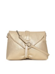 Baggit Muted Gold Toned Sling Bag