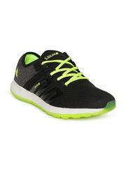 Duke Men Black & Grey Running Shoes