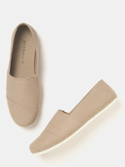 Mast & Harbour Men Beige Slip-Ons