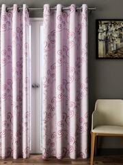 Cortina Pink Room Darkening Door Curtains