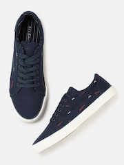 Mast & Harbour Men Navy Blue Sneakers