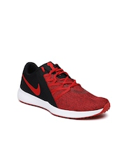 574ece51c1fd3e Buy Nike Men White Kwazi Mid Top Sneakers - Casual Shoes for Men Nike Men  Red Black Varsity Compete Trainer Shoes . ...