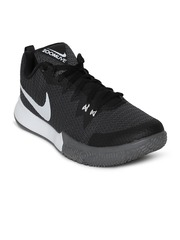 nike men black zoom live ii basketball shoes