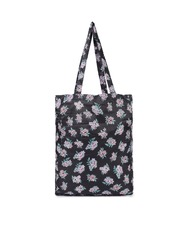 Accessorize Black Printed Foldable Tote Bag