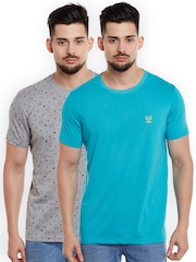 VIMAL JONNEY Men Pack of 2 T-shirts