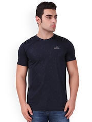 Killer Men Black Printed Round Neck T-shirt