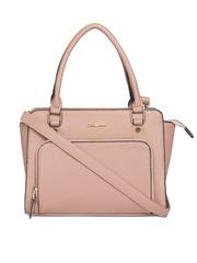 David Jones Coloured Textured Handheld Bag