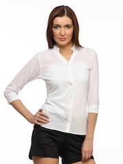 White Shirt For Women - Buy White Shirt For Women online in India
