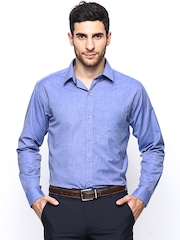 Han Blue Slim Fit Formal Shirt