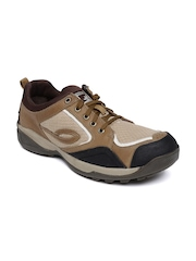 Woodland Men Brown Sneakers