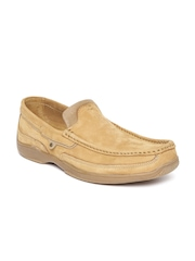 Woodland ProPlanet Men Brown Suede Loafers