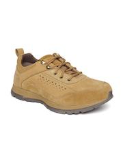 Woodland Men Brown Suede Sneakers