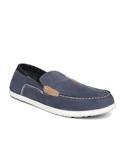 Woodland ProPlanet Men Navy Nubuck Leather Loafers