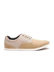 ALDO Men Beige Sneakers