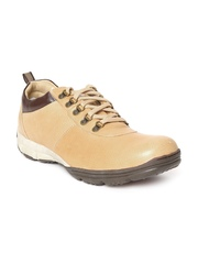 Woodland Men Beige Sneakers