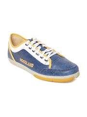 Woodland Men Blue Sneakers