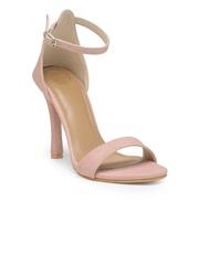 iLO Women Pink Solid Sandals