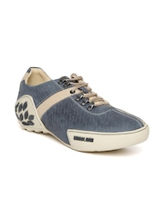 Woodland ProPlanet Men Navy Nubuck Leather Sneakers