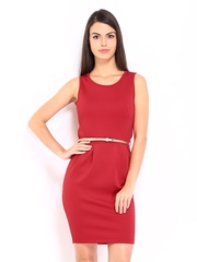 D Muse by DressBerry Red Shaper Berry Dress