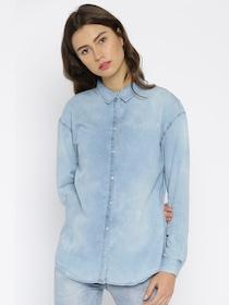 e089c60a Buy Colormode Women White Casual Shirt - Shirts for Women 281389 ...