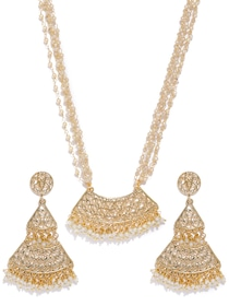 77f61764a Buy SWAROVSKI Sensation Set - Jewellery Set for Women 1369565 | Myntra