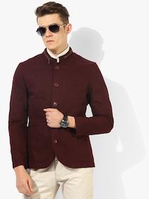 Buy MR BUTTON Men Blue Twill Shacket - Blazers for Men 311493   Myntra e8c4459008