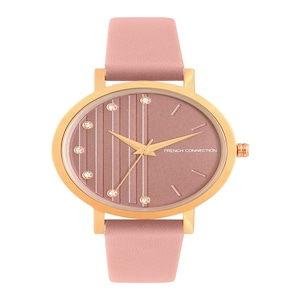 French Connection Women Peach-Coloured Analogue Watch FC20-63E