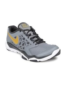 0ebc5c897b4a Nike 749165-010 Men Grey Flex Supreme Tr 4 Training Shoes - Best ...